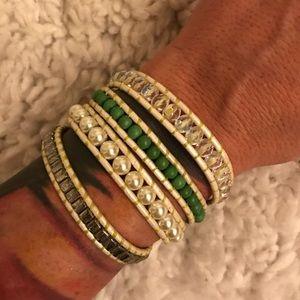 Jewelry - Hand made Wrap around Bracelet 💚